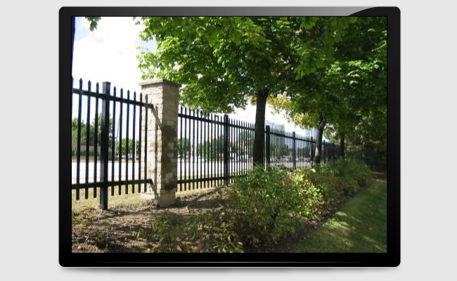 iron fencing